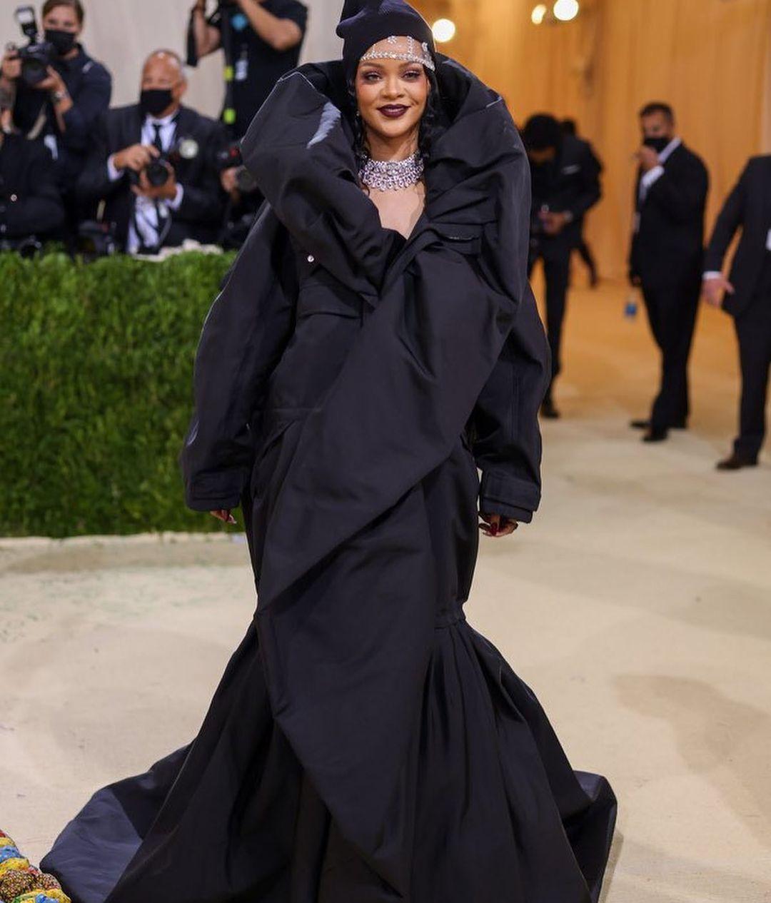 Rihanna Met Gala dress